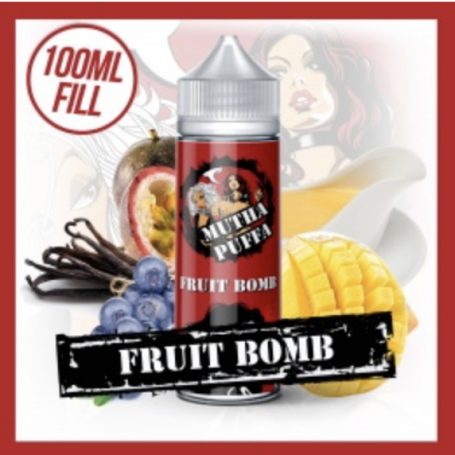 Fruit Bomb 120mL, With Two FREE Nic Shots