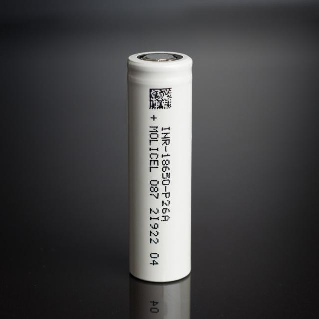 Molicel P26A, 18650 Vape Battery