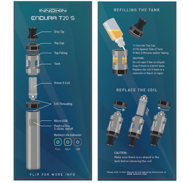 Innokin T20S, Starter Kit